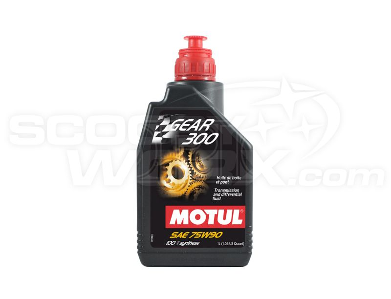 motul gear 300 75w 90 fully synthetic racing car gearbox diff oil 1 litre. Black Bedroom Furniture Sets. Home Design Ideas