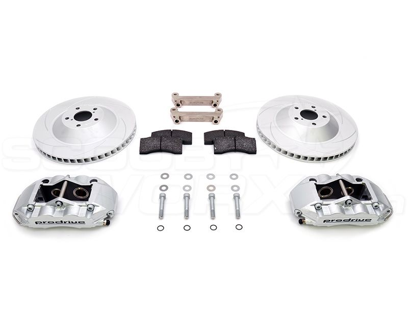 Prodrive / Alcon P1 330mm 4 Pot Brake Caliper Kit