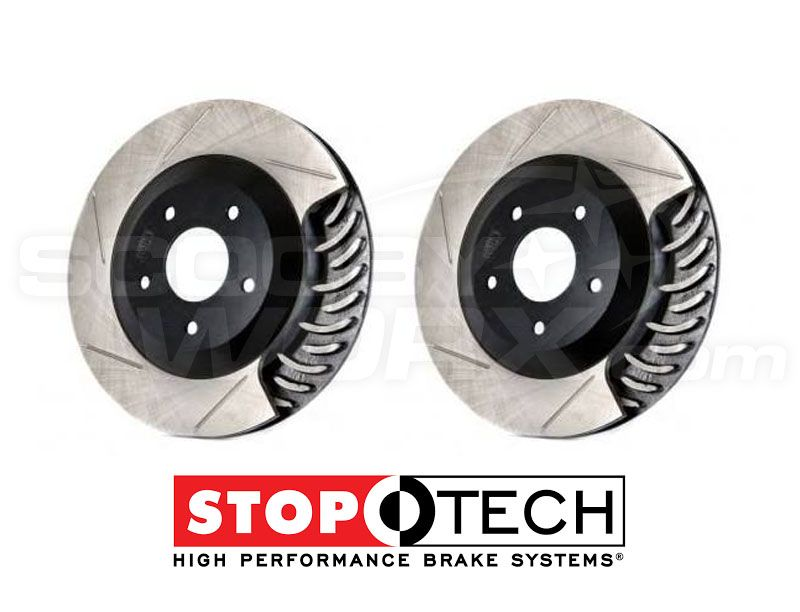 "Stoptech ""Slotted"" Brake Discs"