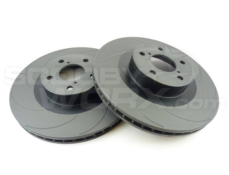 "SWRD ""Colossus"" BLACK SERIES 8 Groove Brake Discs"