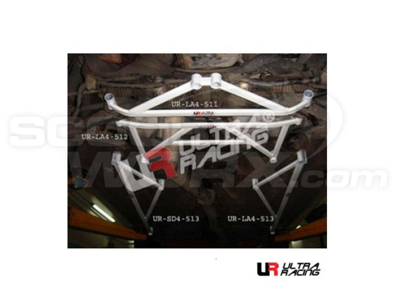 Ultra Racing Subaru Impreza (Classic) GC Version 4 Front Lower Brace LA4-511